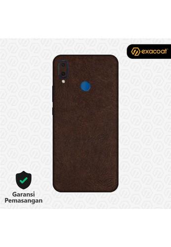 Exacoat Huawei Nova 3i 3M Skins Leather Brown - Cut Only A5AC2ESA093292GS_1