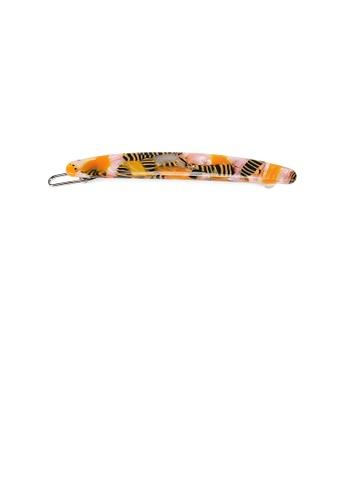 Glamorousky yellow and multi Simple Fashion Yellow Pattern Geometric Hair Clip A06E9AC6EC6BA2GS_1