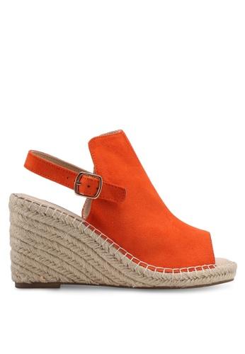 ZALORA orange Espadrille Wedges 95542SH12AA1E2GS_1