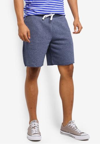 Hollister navy Tech Logo Classic Shorts A41B0AA552BF07GS_1