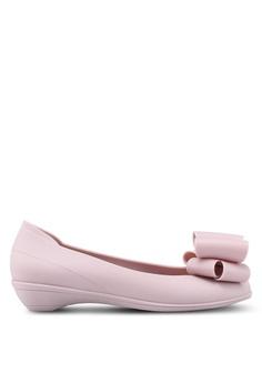 b9cd4d18b791 Twenty Eight Shoes pink Simple Jelly Bow Ballerinas 887A4SHB9E1800GS 1