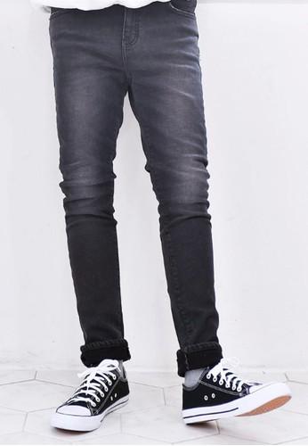 拉絨牛仔褲, 服飾,zalora鞋子評價 直筒牛仔褲