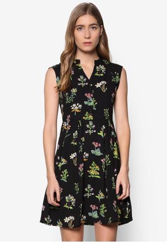 野花無袖洋裝esprit 兼職, 服飾, 洋裝