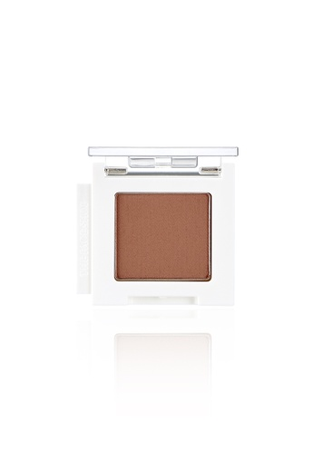 THE FACE SHOP brown Mono Cube Eyeshadow (Matte)  BR09 Soft Brownie F4CB7BE731A9DBGS_1