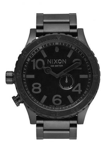 Nixon black Nixon - 51-30 Chronograph All Black Watch NI855AC69EEWSG_1
