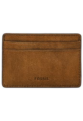 Fossil brown Steven Card Case ML4395264 AC88DAC0332C99GS_1