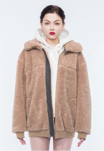 Alpha Style beige Ewan Sherpa Jacket AL461AA0GTVZSG_1