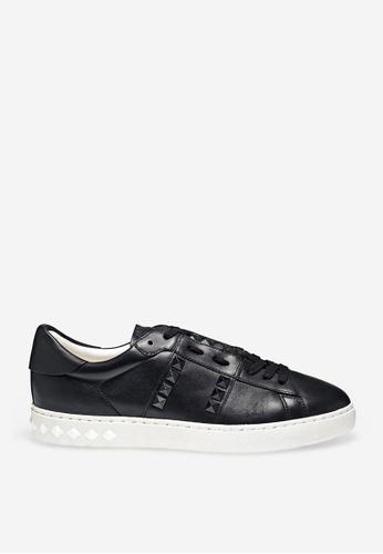 ASH black Parker - Black Rivets Embroidery Sneakers 2AF86SH9CA5CE7GS_1