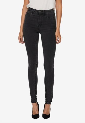 Noisy May grey Callie Skinny Jeans 6B393AA9E58241GS_1