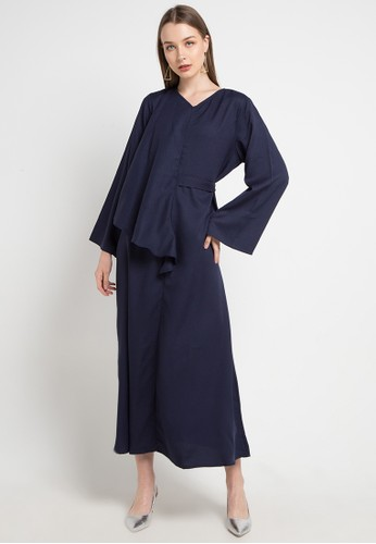 Covering Story navy Khaya Dress - C B13ECAA0F79CD6GS_1
