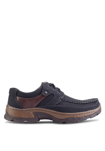 Louis Cuppers black Lace Up Moccasins LO977SH35ZLKMY_1