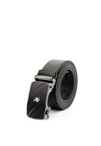 Swiss Polo black Swiss Polo 40mm Automatic Belt A2397AC721BF1AGS_1