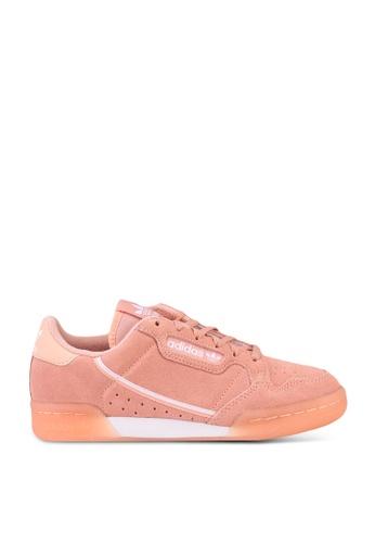 ADIDAS pink continental 80 sneakers B0669KS8554C30GS_1