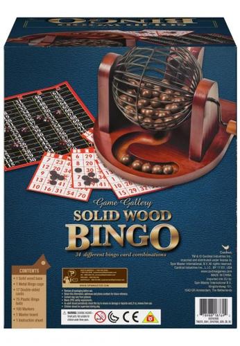 Spin Master Games multi Solid Wooden Bingo B1669KC5E6F3D0GS_1