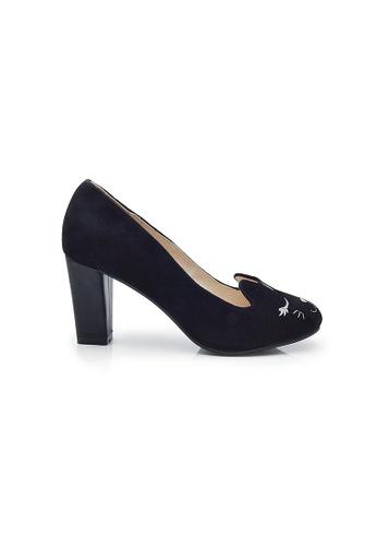 Elisa Litz Neko Heels (Black) EL365SH25ZHESG_1