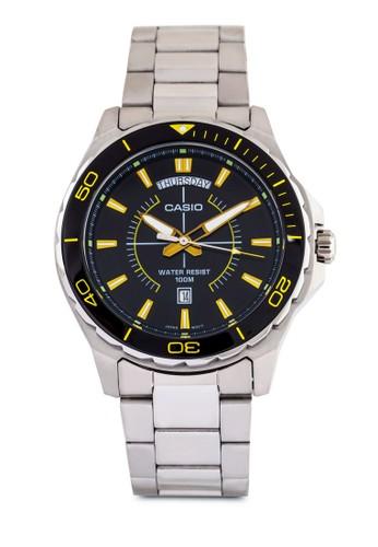 MTD-1076D-1A9VDF 經esprit hong kong 分店典不銹鋼圓錶, 錶類, 飾品配件