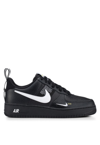 Nike black Air Force 1 '07 Lv8 Utility Shoes 196FFSHE00AA2DGS_1
