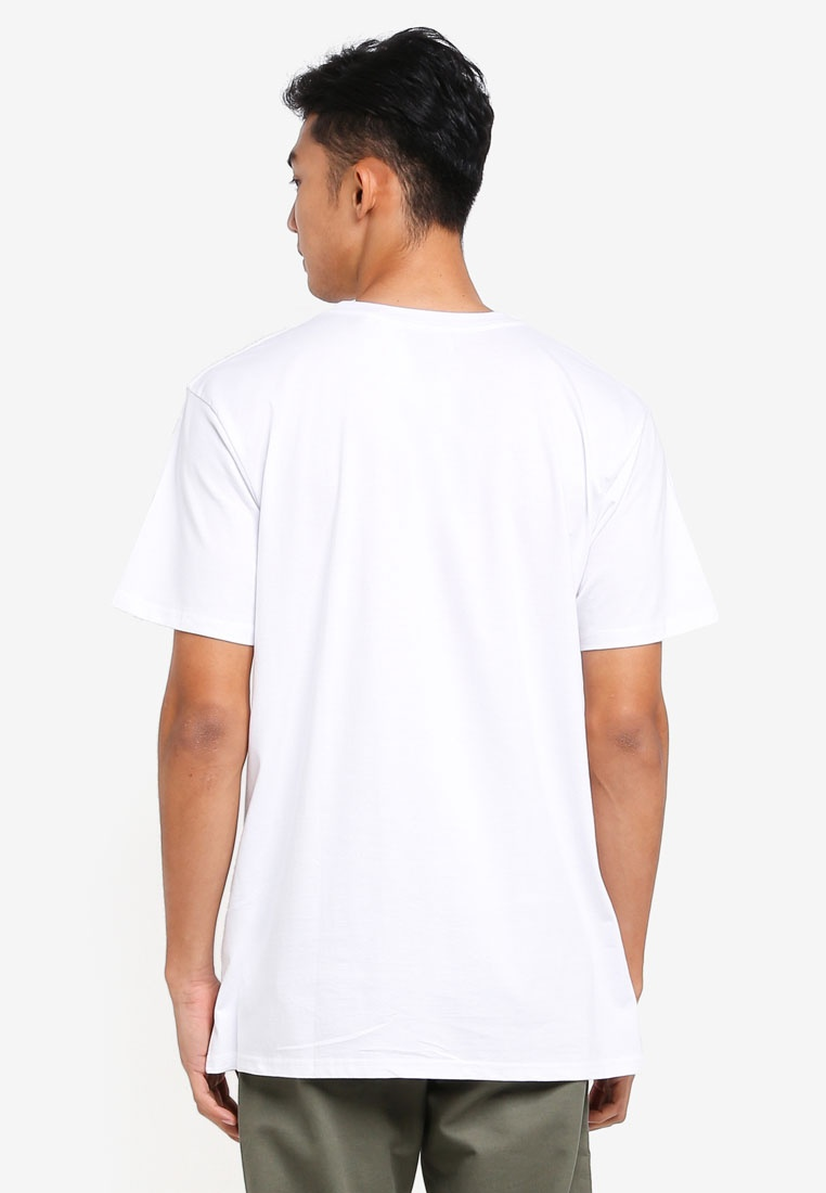 Motion Tee White On Dylan Slow Cotton Y08dwqX