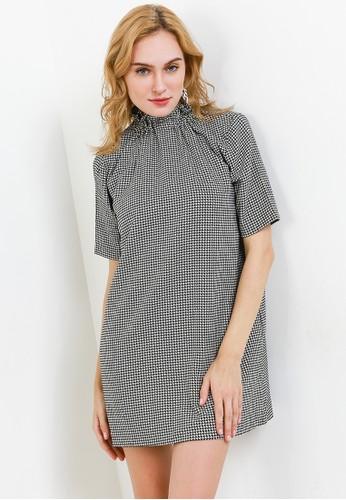 EDITION black Elastic Neckline Dress 9AF8DAAD8F6D8DGS_1