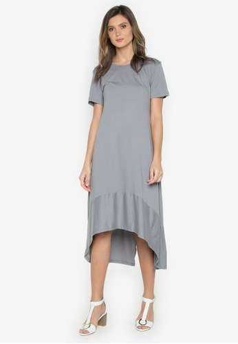 Verve Street grey Levina Dress VE915AA0JP1YPH_1