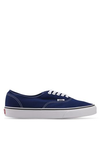 VANS blue Authentic Sneakers VA142SH0SWU7MY_1