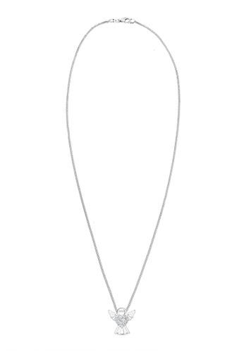 Elli Germany silver Elli Germany Necklace Angel Heart Swarovski Crystals 925 Silver EL474AC0SEV6MY_1