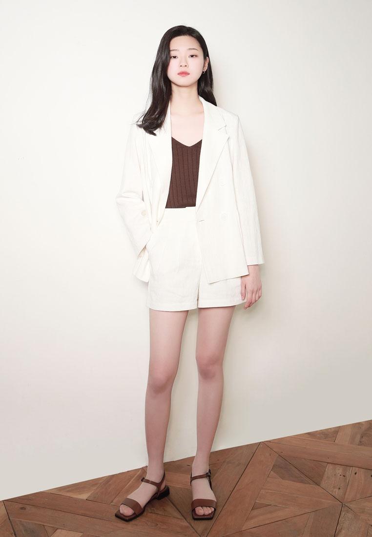 Shorts Linen NAIN NAIN White Linen qxOF1HwHt