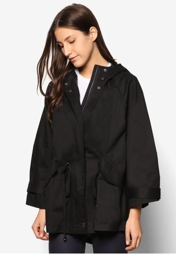 Collection 簡約esprit 品牌連帽大衣, 服飾, 夾克 & 大衣