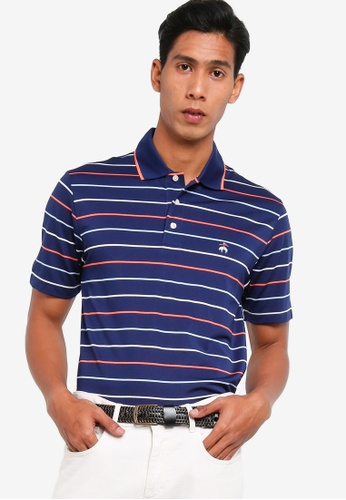 Brooks Brothers multi Pique Short Sleeve Polo Shirt With Tipping F8AE8AAE00B58DGS_1