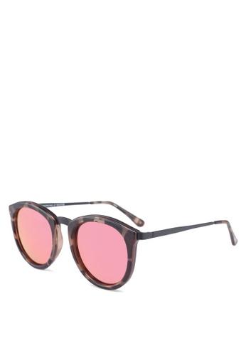 Le Specs multi No Smirking Sunglasses DE173GLD40CC3FGS_1