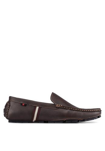 UniqTee brown Classic Loafers UN097SH0S21BMY_1