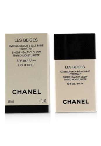 Chanel CHANEL - Les Beiges Sheer Healthy Glow Tinted Moisturizer SPF 30 - # Light Deep 30ml/1oz 32B67BE094D4D2GS_1