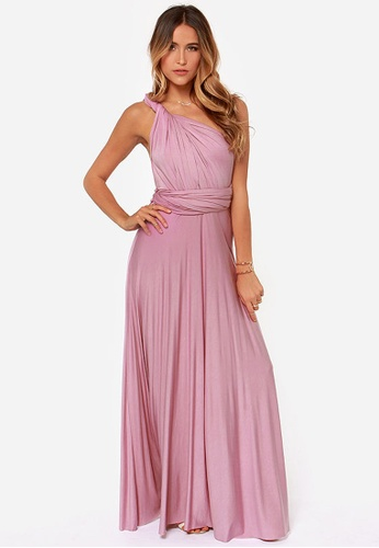 084ca43a2f Shop French Dolls Infinity Wrap Convertible Dress - Floor Length Online on  ZALORA Philippines