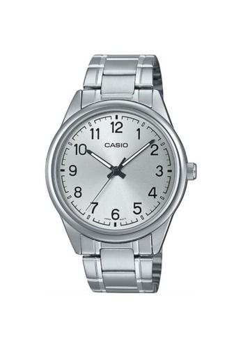 Casio silver CASIO GENERAL MTP-V005D-7B4UDF MEN'S WATCH F8B17AC20126ADGS_1