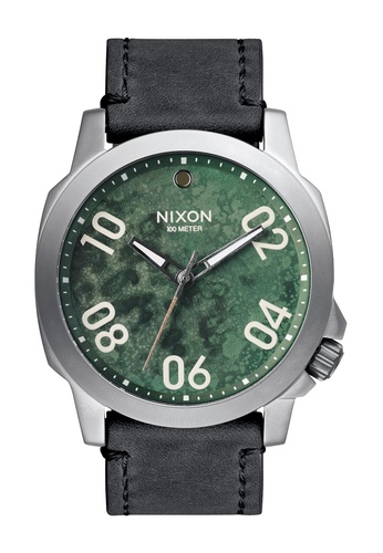 Nixon green Nixon - Ranger 45 Leather Green Oxyde Watch NI855AC94EABSG_1