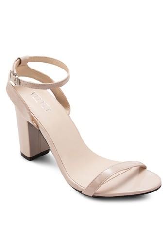 Dana 經典踝帶粗zalora taiwan 時尚購物網鞋子高跟鞋, 女鞋, 細帶高跟鞋