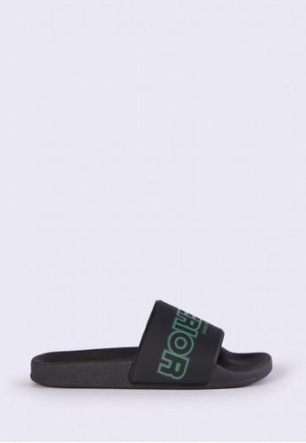 Diesel black A-LOHAA SA-MARAL - sandals B9CACSH41DBAACGS_1