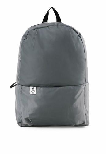 Hush Puppies grey Backpack 912 65A00AC05CDA19GS_1