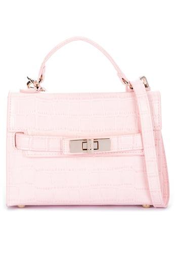 Steve Madden pink Bjulieta Crossbody Satchel 4BB8DAC256D830GS_1