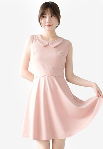 Tokichoi pink Graceful Sleeveless Mini Dress 43523AA0B8C2F9GS_1