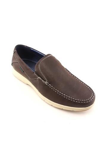 Hanson Bootmaker brown Hanson Bootmaker Slip On Casual HA656SH24RWHSG_1