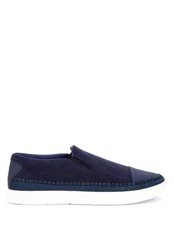 BENCH blue Slip On Sneakers A4728SH33232CCGS_1