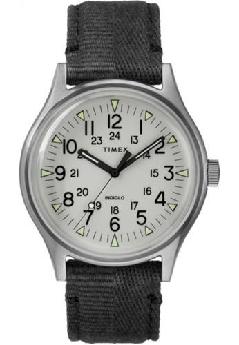 Timex black Timex MK1 SST Black Fabric Strap Gray Dial – TW2R68300 36388ACDF6A231GS_1