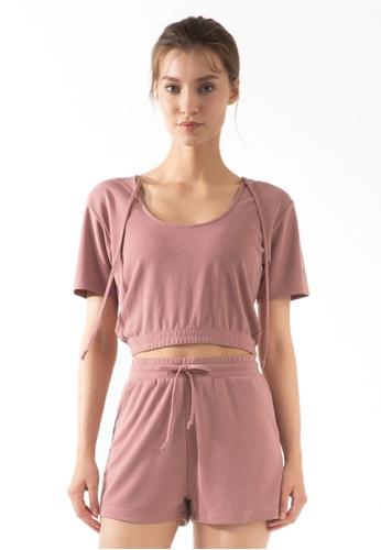 HAPPY FRIDAYS Women's Yoga Short Sleeve Tees DSG70 3C7F4AA61E9DF3GS_1