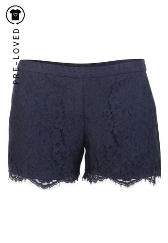 Joie blue Pre-Loved joie Blue Lace Shorts A81DDAA7481687GS_1