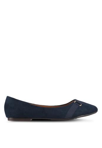 Alfio Raldo blue Bow Ballerina Flats 7D070SH87C415BGS_1