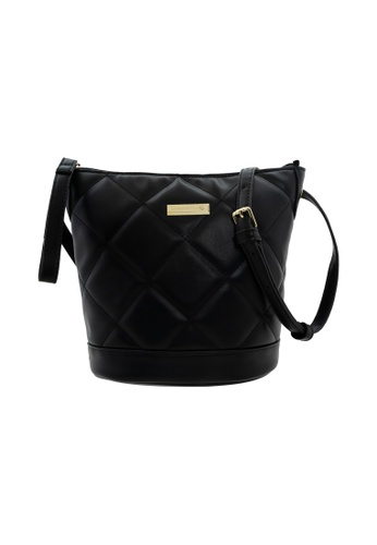 LancasterPolo black Lancaster Polo Lizzy-Lined Bucket Bag 479B6AC5948429GS_1