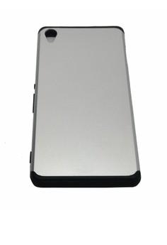 OEM Sleek Shockproof Case for Sony Xperia Z2 (Silver)