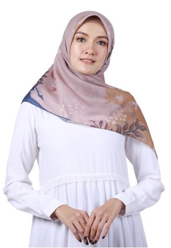 Wandakiah.id brown Wandakiah, Voal Scarf Hijab - WDK17.18 9F4FCAA108DCF9GS_1