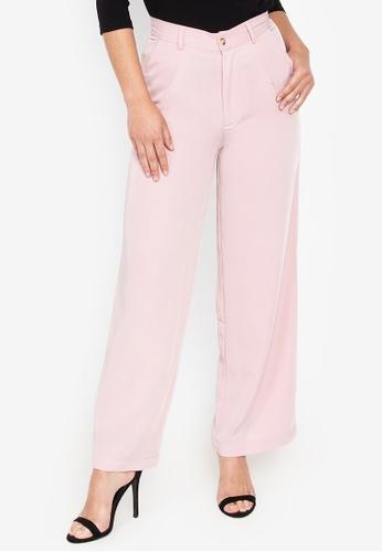 Wear Kris pink Kick Off Wide Leg Pants 96C1EAABC12AE3GS_1